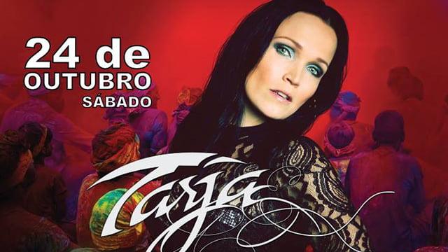 Tarja: musa do metal retorna ao Brasil apresentando show de encerramento da turnê mundial