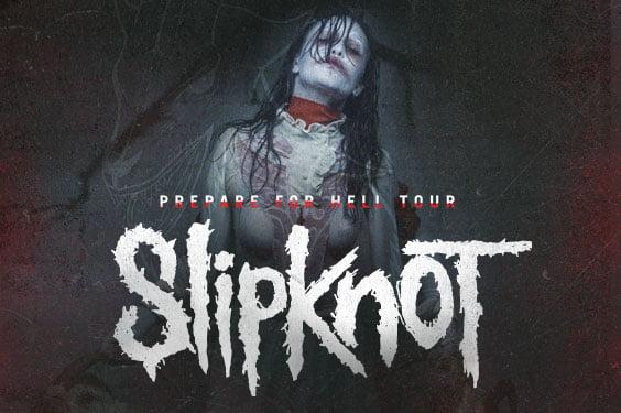 """Slipknot: banda  traz a turnê """"Prepare for Hell"""" para uma apresentação especial em São Paulo"""