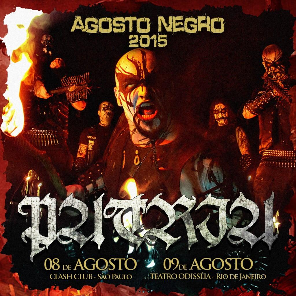 Patria: banda confirmada no line – up do Agosto Negro, também em São Paulo