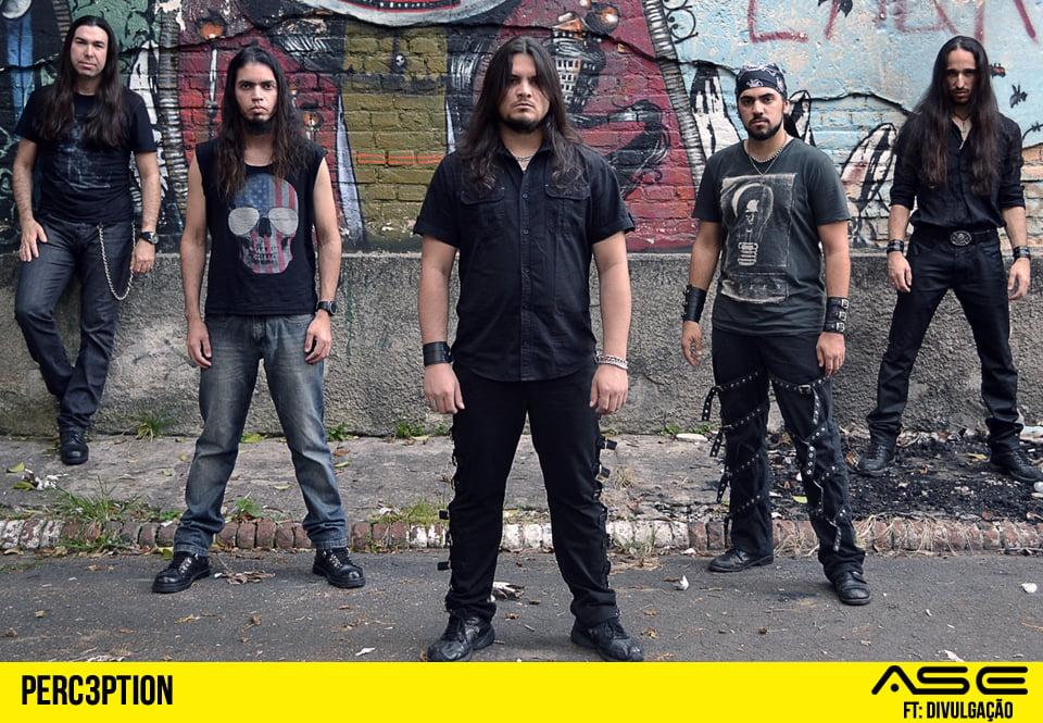 Perc3ption: vocalista em álbum do Empires of Eden