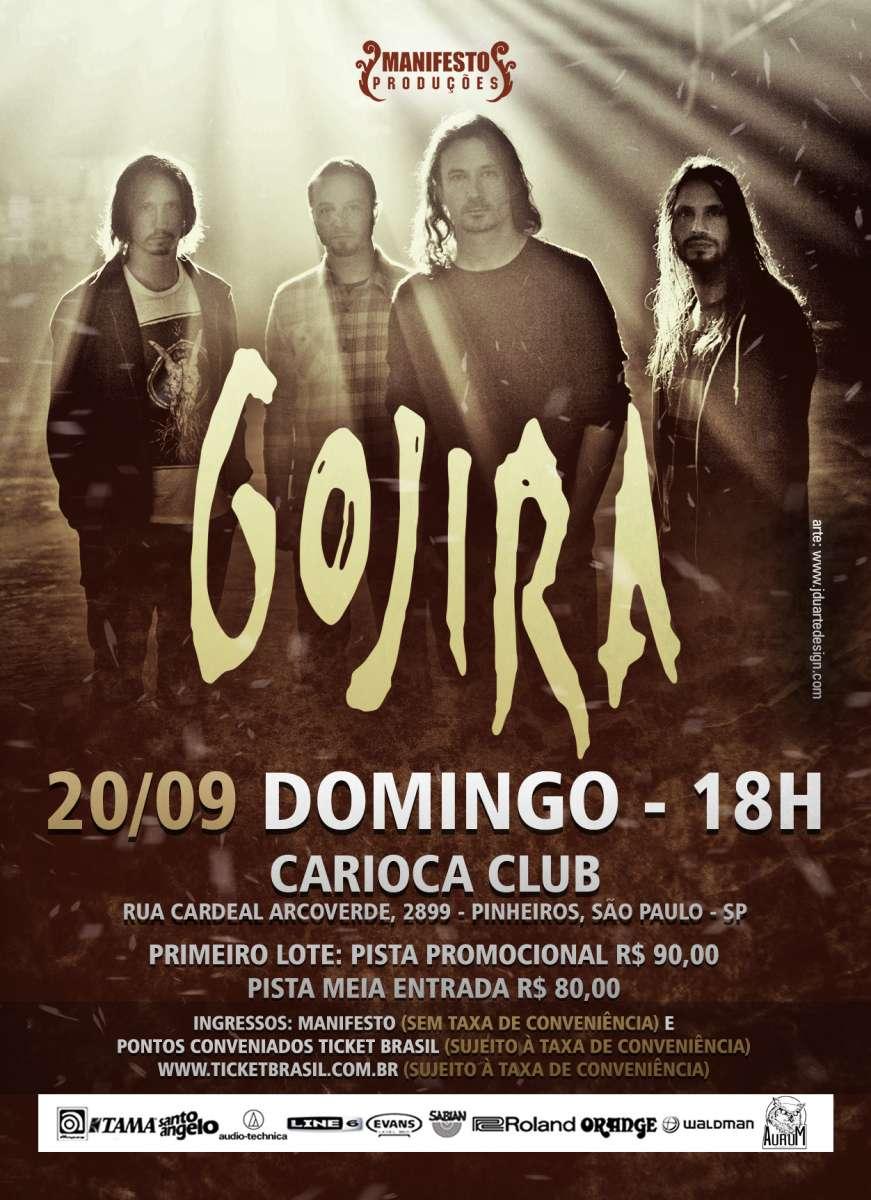 Read more about the article Gojira: Atração do Rock in Rio se apresenta final de semana em São Paulo