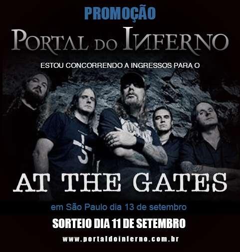 PROMOÇÃO: concorra a ingressos para o At The Gates em São Paulo (ENCERRADA)