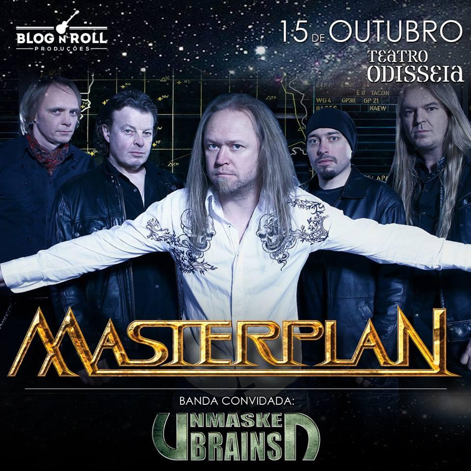 Masterplan: banda retorna ao Rio de Janeiro