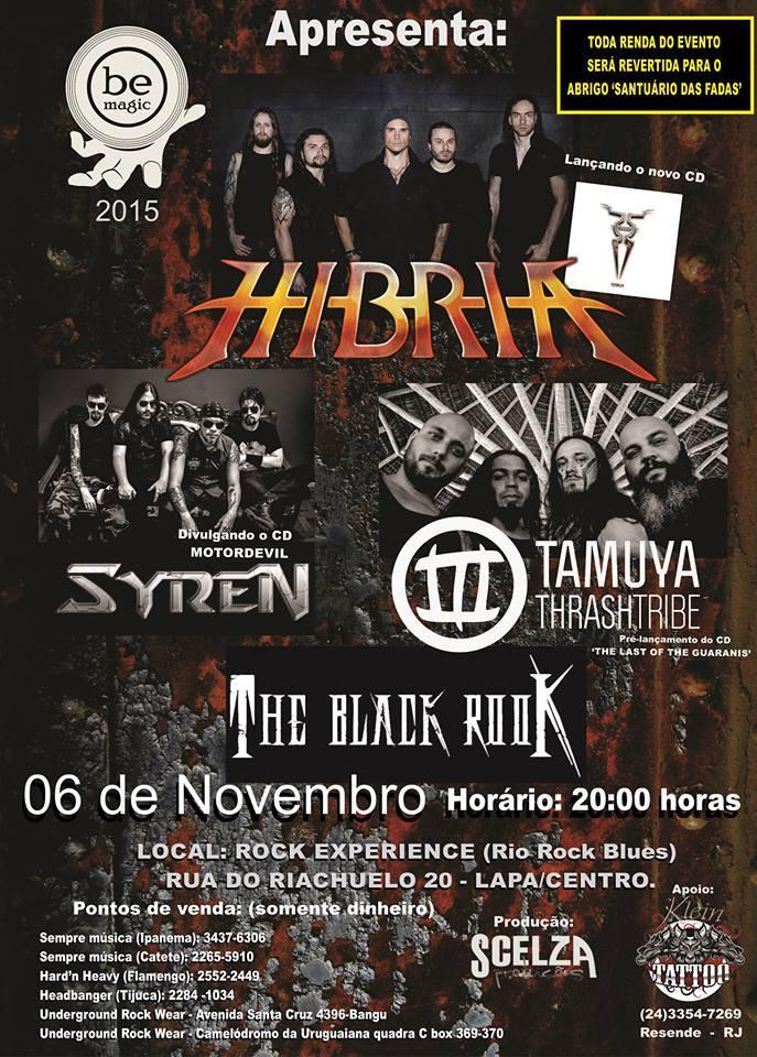 Read more about the article Hibria – Rock Experience – Rio de Janeiro/RJ