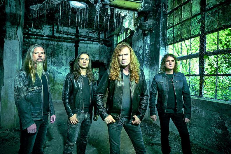 Megadeth: vem para sua maior turnê em Maio pelo Brasil
