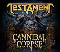 Testament, Cannibal Corpse e Genocídio – Carioca Club