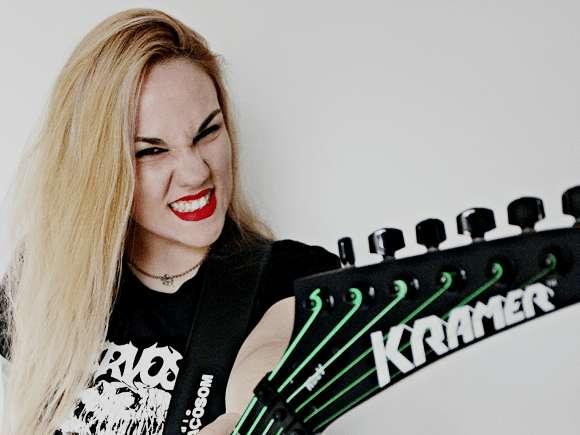 Read more about the article Nervosa: guitarrista conta como foi encontro com Mille Petrozza do Kreator