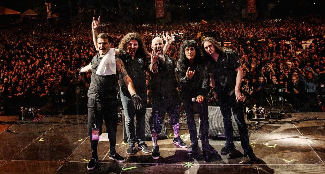 Anthrax: banda executa nova música pela primeira vez ao vivo
