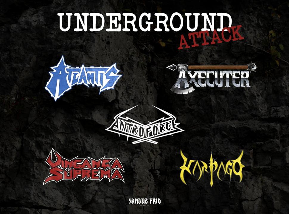 Read more about the article Underground Attack: cinco bandas unidas em três shows pelo Sul do Brasil