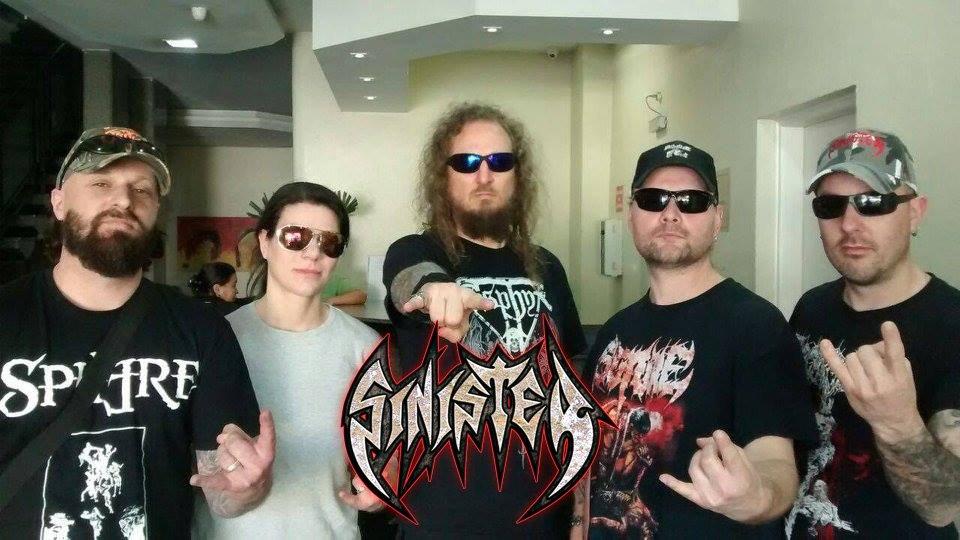 Sinister: banda já está no Brasil e envia mensagem aos fãs
