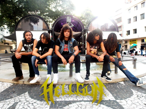 Read more about the article Hell Gun: banda apresenta sua nova formação no Thrash Or Be Thrashed Fest