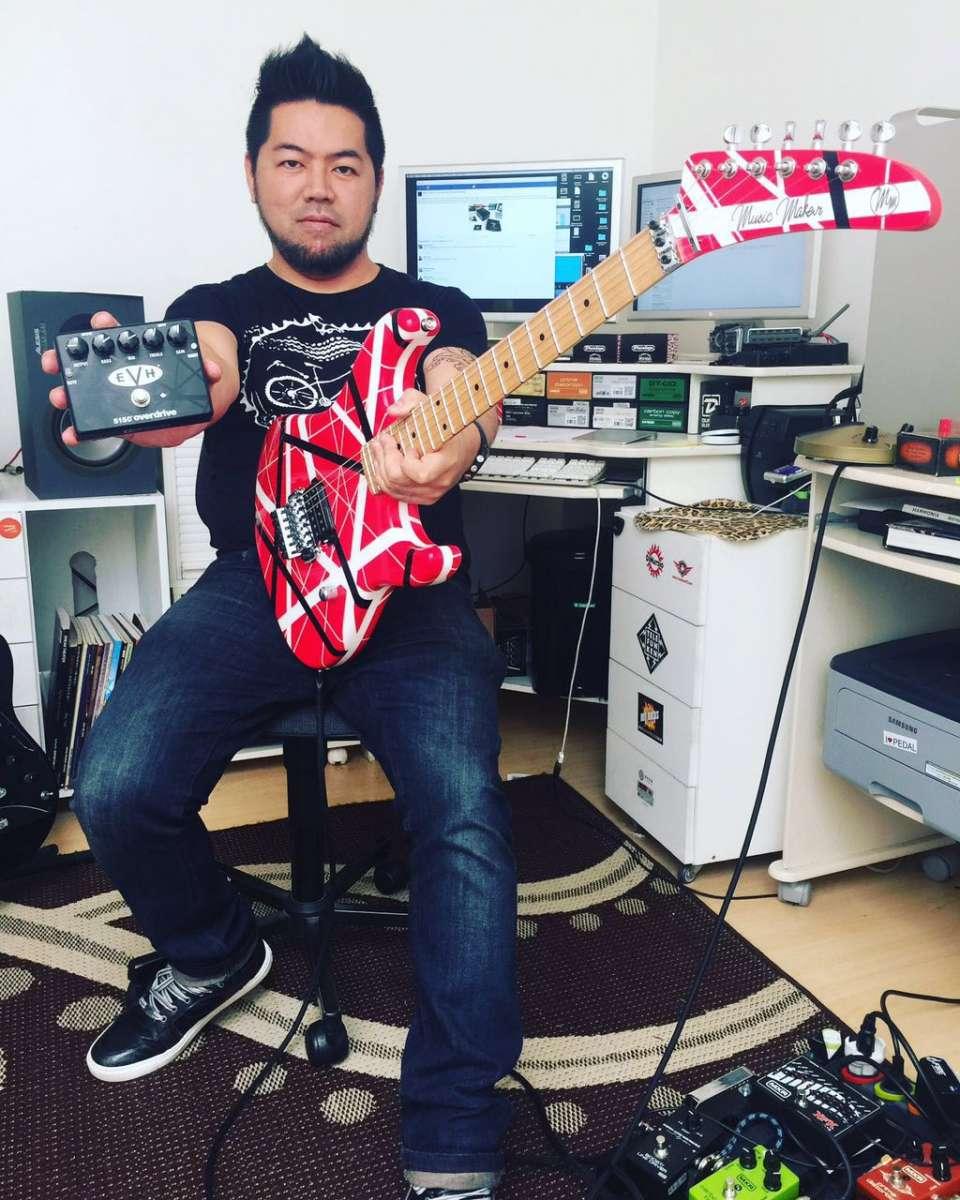 Kleber K. Shima: guitarista analisa novo pedal signature de Eddie Van Halen