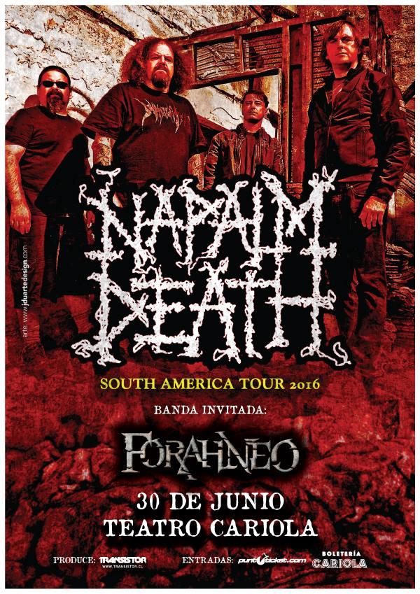 Read more about the article Forahneo: estreia da nova formação será ao lado do grande Napalm Death em Junho