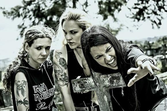 Read more about the article Nervosa: novo álbum da banda será lançado no Brasil pela Shinigami Records
