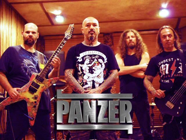 Panzer: banda esta iniciando as gravações do novo álbum