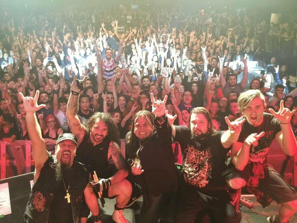 Noturnall: show com o Angra foi um sucesso em Belo Horizonte (MG); veja fotos