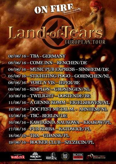 Land of Tears_onfire_cartaz tour 2016_brazilian deah metal