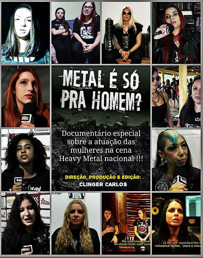 Documentário: Metal é só pra Homem?