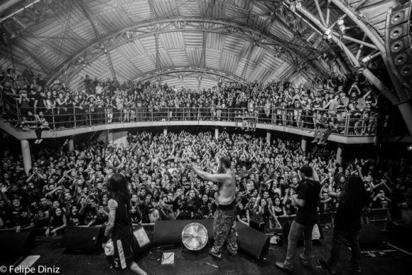 Matanza: banda encerra 4ª edição do Matanza Fest, em Porto Alegre, neste domingo!