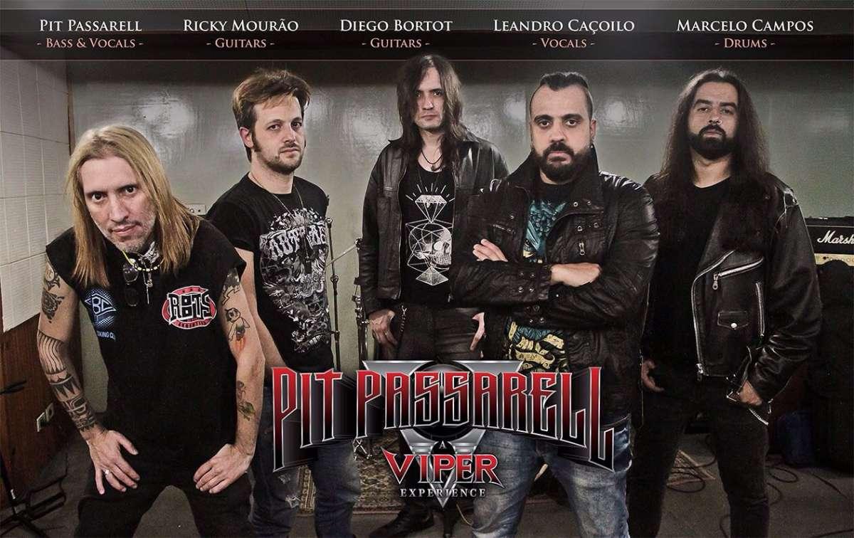 Pit Passarell, A Viper Experience: Leandro Caçoilo e Pit Passarell convidam fãs para show de estreia no Rock na Casa