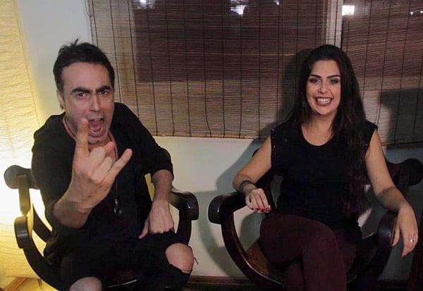 Alirio Netto e Livia Dabarian: assista vídeo sobre bebedeiras e ressacas no canal 12,5%