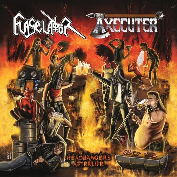 """Axecuter: confira a capa do novo álbum """"Headbangers Afterlife"""""""