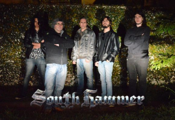 South Hammer: banda é capa da revista mexicana Metal Pro Magazine