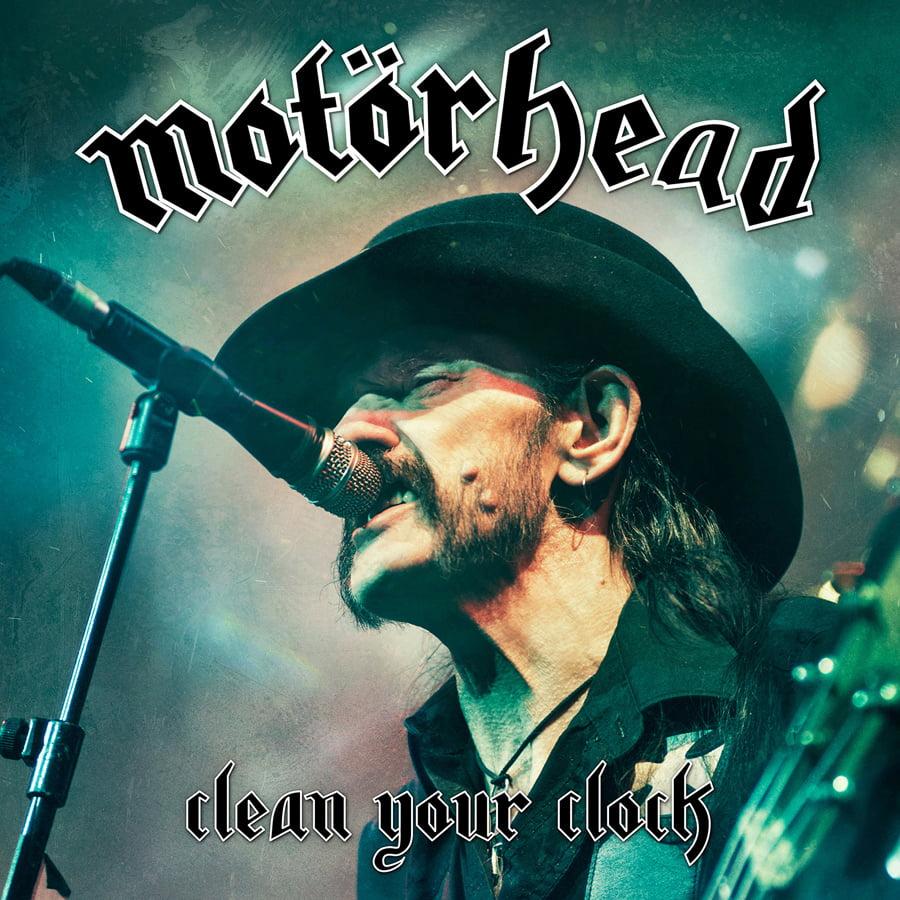 "Motörhead: Hellion Records lança DVD ""Clean Your Clock"" em Digipack de luxo"