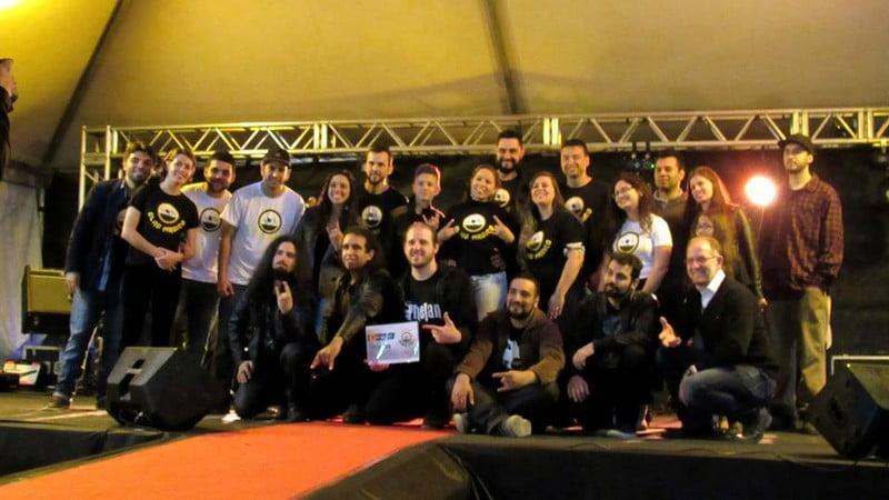 Phelan: banda conquista 1º lugar no Tendas Music Fest