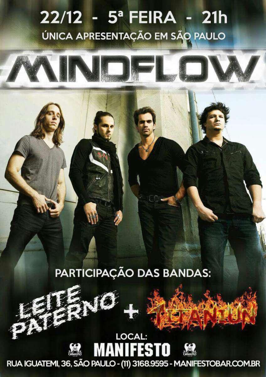 MindFlow realiza show inédito no Manifesto Bar em SP nesta quinta-feira