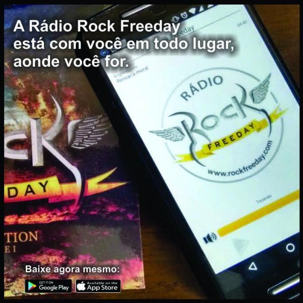 Rock Freeday lança App para dispositivos móveis