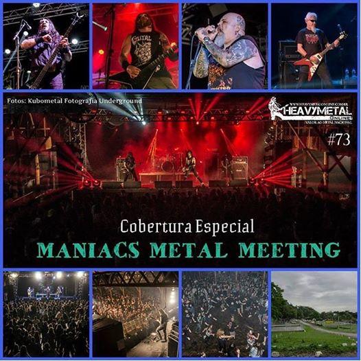 Maniacs Metal Meeting: confira a cobertura do evento no novo programa do Heavy Metal On Line