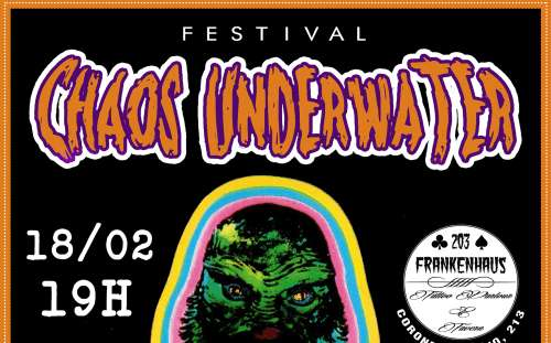 Read more about the article Chaos Underwater: 1º Festival do metal extremo ao rock alternativo