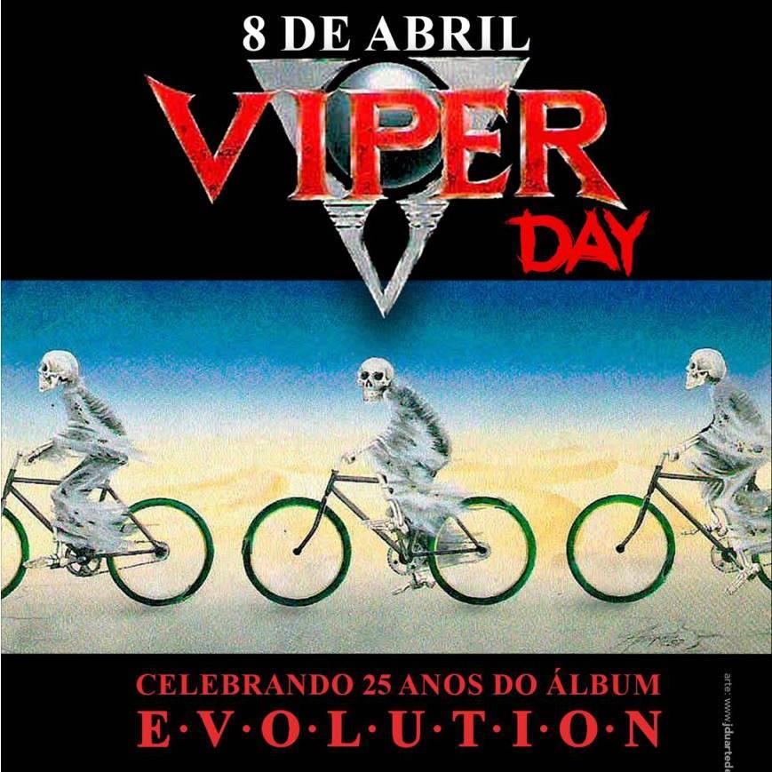 """VIPER DAY 2017: banda celebra 25 anos do álbum """"Evolution"""" com show especial no Manifesto Bar"""