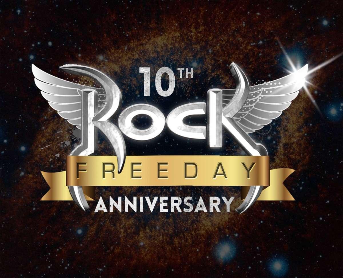 Rock Freeday: rádio completa 10 anos nesta quinta e promete muitas novidades