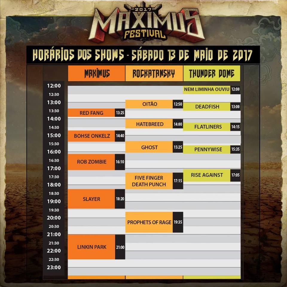 O Maximus Festival 2017