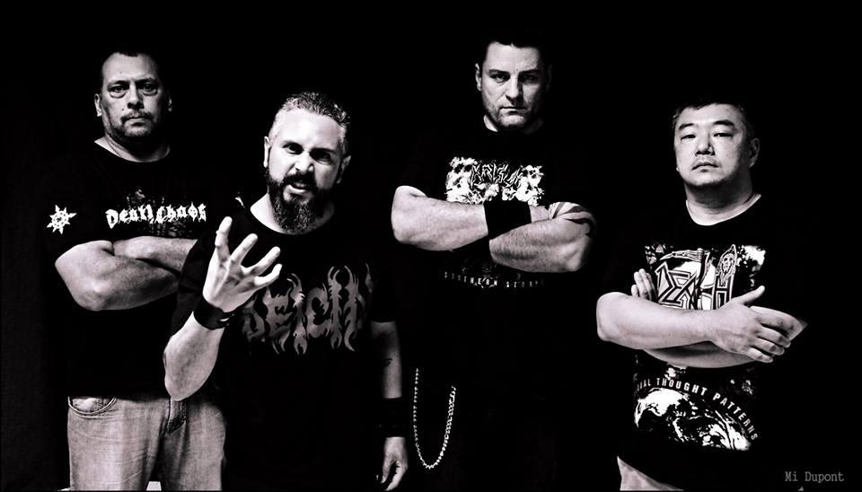 Death Chaos: banda é uma das atrações do Curitiba Metal Reunion, no dia 15 de junho