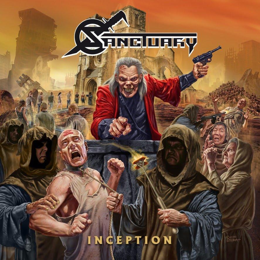 """Read more about the article Sanctuary: """"Inception"""" é lançado em todo o Brasil pela Hellion Records"""