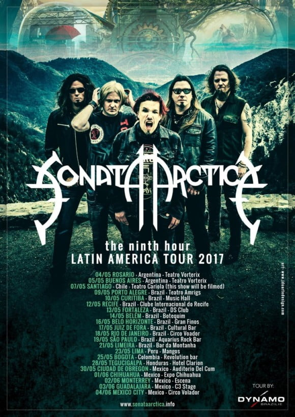 The Ninth Hour Latin America Tour 2017