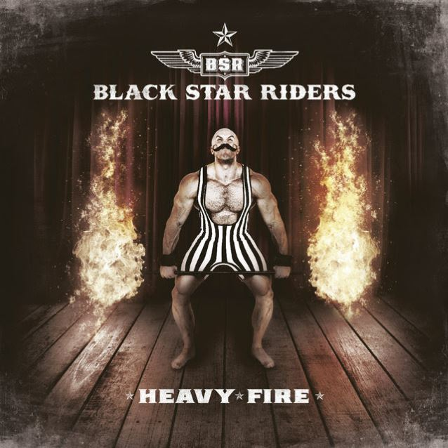 Read more about the article Black Star Riders – Heavy Fire