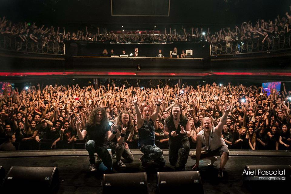 Sonata Arctica: banda abre longa turnê pela América Latina com shows sold out na Argentina e Chile