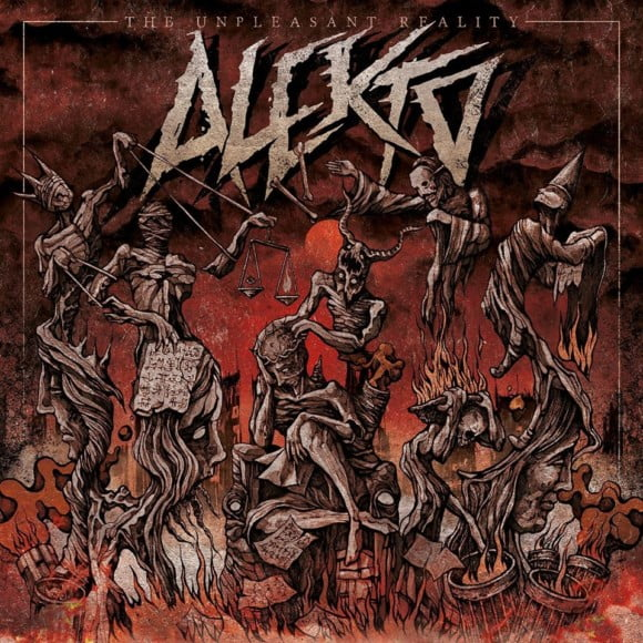 "Alekto: banda disponibiliza o álbum ""The Unpleasant Reality"" para download no site Coletivo La Migra."