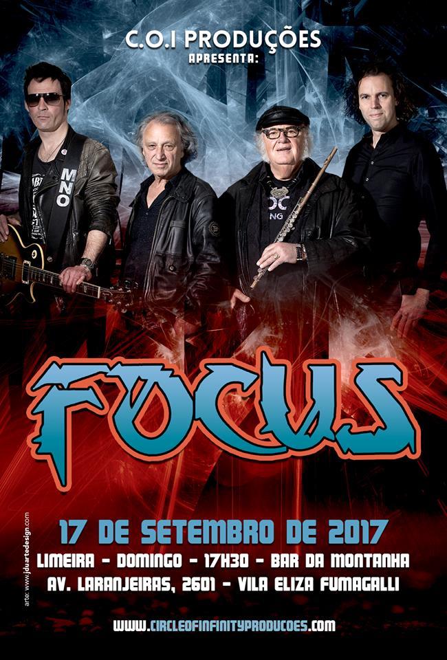 Focus: ingressos à venda para apresentação em Limeira