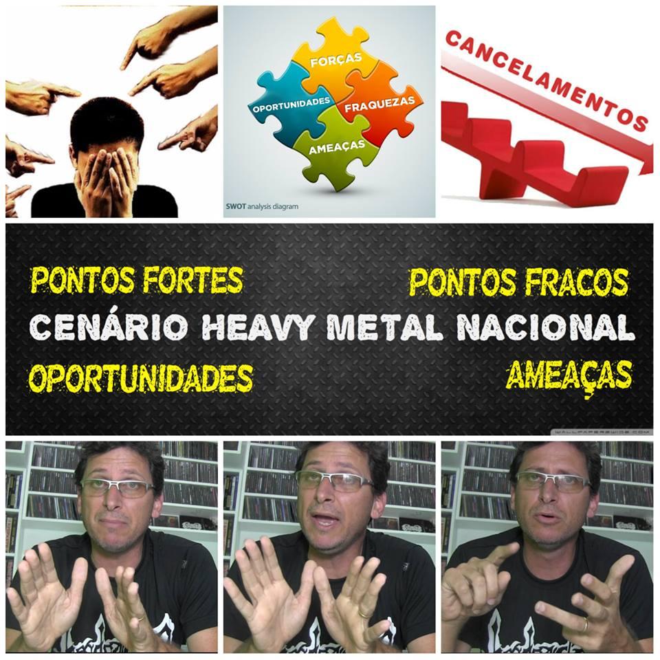 """Heavy Metal Online: """"Pontos fortes, fracos, oportunidades e ameaças do Metal Nacional"""""""