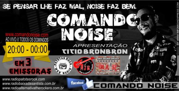 Comando Noise: conheça um pouco da história do programa