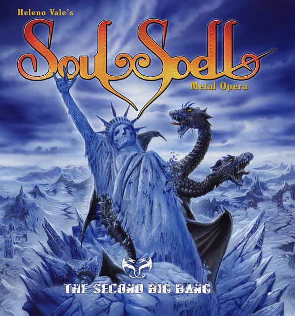 """Soulspell Metal Opera: novo álbum """"The Second Big Bang"""" é lançado no Brasil"""