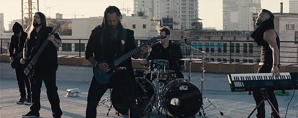 Read more about the article Marcelo Barbosa: confira videoclipe do guitarrista do Angra e Almah com participação de integrantes da Noturnall e Thomas Lang