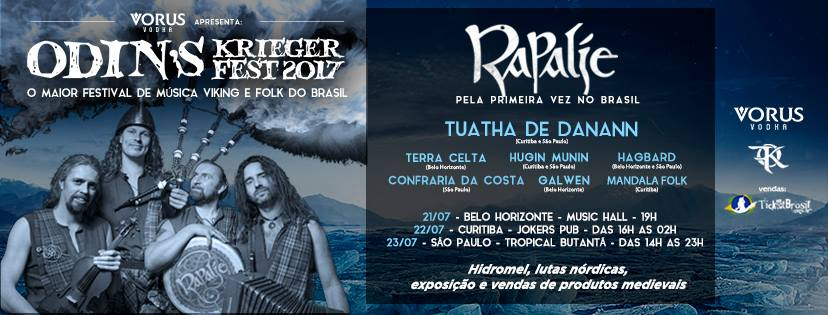 Read more about the article Odin´s Krieger Fest 2017 : o maior festival de música viking e folk do Brasil
