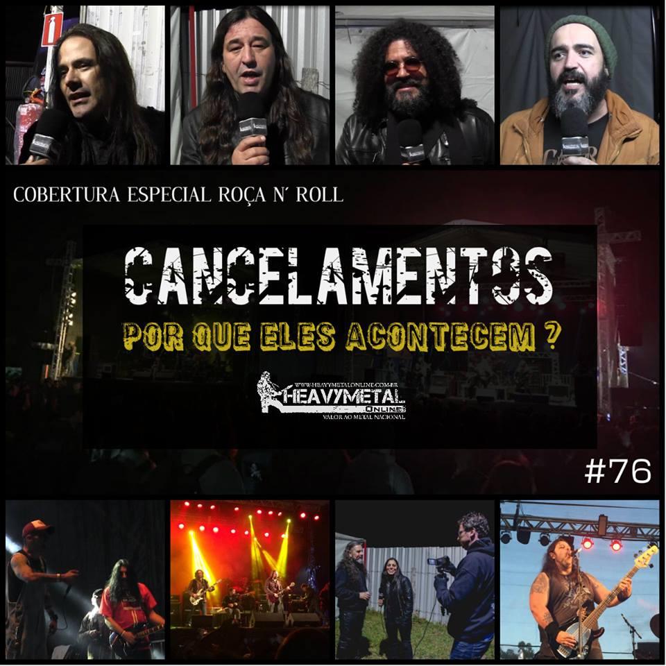 Heavy Metal Online: Novo programa aborda recentes cancelamentos de shows no Brasil, confira!