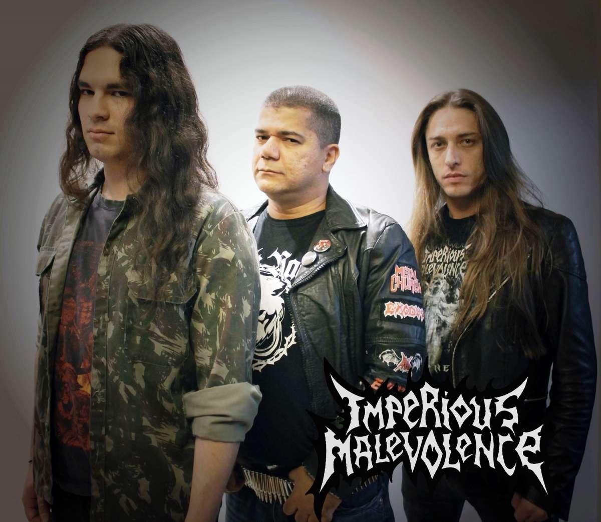 """Imperious Malevolence: banda divulga música inédita em vídeo gravado no """"IV Maquinária Rockfield"""""""